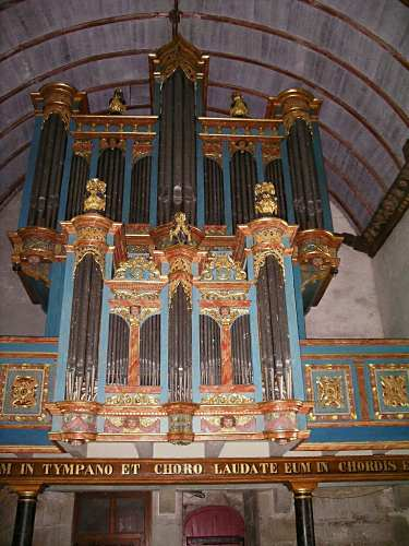 Pleyben, St-Germain l'Auxerrois, l'orgue